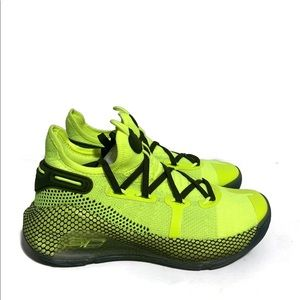 New Under Armour BGS Curry 6 Hi Visibility Yellow